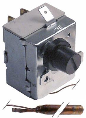 θερμοστάτης ασφαλείας θερμ. απενεργοποίησης 120°C 1-πόλοι 16A ø αισθητηρίου 6.5mm Μ αισθητηρίου 93mm