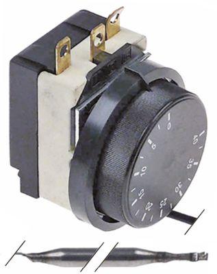 θερμοστάτης εύρος θερμοκρασίας 0 έως +40°C αισθητήριο ø6x110mm  σωλήνας τριχοειδής 1500mm  -