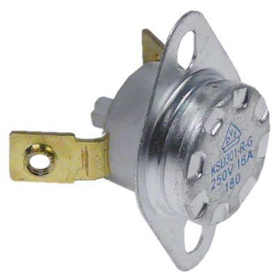 θερμοστάτες ασφαλείας επαφής απόσταση οπής 23,5mm θερμ. απενεργοποίησης 180°C 1NC  1-πόλοι 16A