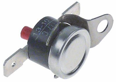 θερμοστάτες ασφαλείας επαφής απόσταση οπής  -mm θερμ. απενεργοποίησης 127°C 1NC  1-πόλοι 16A