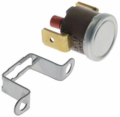 θερμοστάτες ασφαλείας επαφής απόσταση οπής 23,5mm θερμ. απενεργοποίησης 105°C 1NC  1-πόλοι 16A 250V