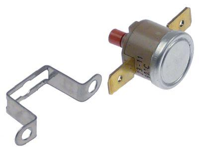θερμοστάτες ασφαλείας επαφής απόσταση οπής 23,5mm θερμ. απενεργοποίησης 90°C 1NC  1-πόλοι 16A