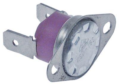 θερμοστάτης επαφής απόσταση οπής 24mm θερμ. απενεργοποίησης 210°C 1NC  1-πόλοι 16A 250V