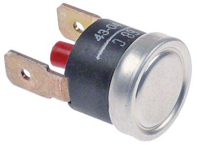 θερμοστάτες ασφαλείας επαφής θερμ. απενεργοποίησης 68°C 1NC  16A