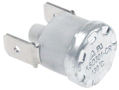θερμοστάτες ασφαλείας επαφής απόσταση οπής  -mm θερμ. απενεργοποίησης 130°C 1NC  1-πόλοι 16A