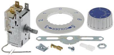 θερμοστάτης Ranco  τύπος K50-P1110 ø αισθητηρίου 2mm σωλήνας τριχοειδής 1200mm