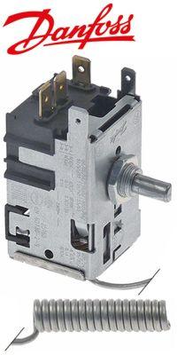 θερμοστάτης τύπος σωλήνας τριχοειδής 1600mm ø αισθητηρίου 9,5mm Μ αισθητηρίου 40mm DANFOSS