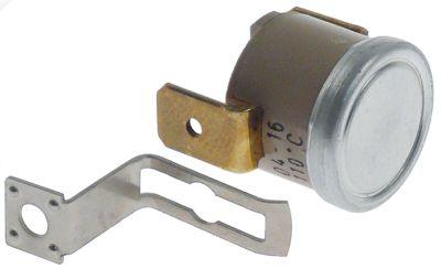 θερμοστάτες ασφαλείας επαφής θερμ. απενεργοποίησης 110°C 1NC -πόλοι 16A 250V