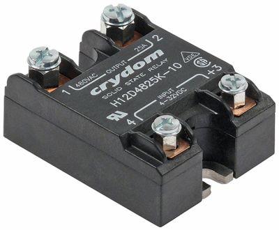 ρελέ CRYDOM  φάσεις 1 25A 480V Μ 58mm W 44mm βίδα τύπος H12D4825K-10