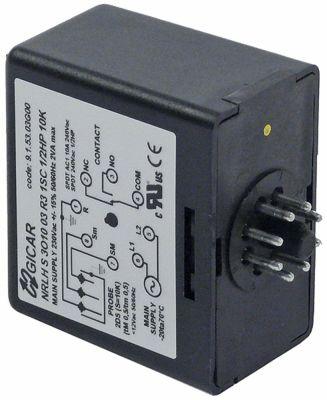 ρελέ στάθμης 1CO  230V τάση AC  σύνδεσμος σύνδεση plug-in, στρογγυλό βύσμα 8 πόλων