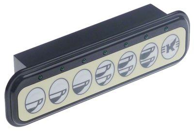 πληκτρολόγιο κουμπιά 7 μαύρο