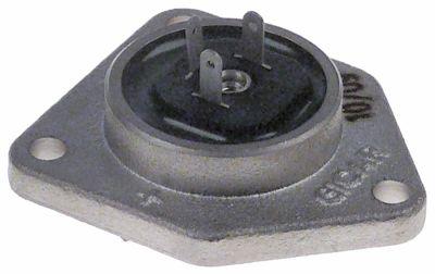 κάλυμμα επινικελωμένος ορείχαλκος για παροχόμετρο GICAR