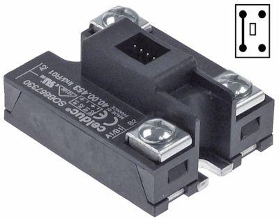 ρελέ CELDUC  2 φάση 65A 400V 24VDC  Μ 58mm W 45mm σύνδεση plug-in βίδα τύπος 40.00.453
