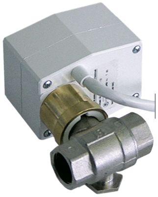 βάνα  είσοδος 1/2″ εσωτερικό σπείρωμα έξοδος 1/2″ εσωτερικό σπείρωμα 230V