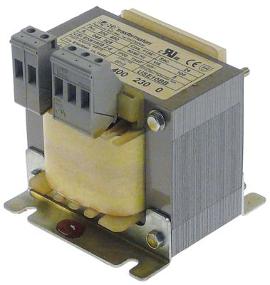 μετασχηματιστής κύρια τάση 230/400VAC  δευτερεύον 24VAC  100VA δευτερεύον 5A H 95mm
