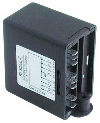ρελέ στάθμης 230V τάση AC  50/60 Hz σύνδεσμος F6,3  τύπος RL30/2E-2C/F
