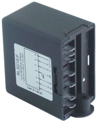 ρελέ στάθμης 230V τάση AC  50/60 Hz 10A σύνδεσμος F6,3  τύπος RL30/1E/F