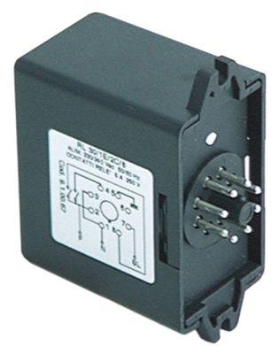ρελέ στάθμης 230V τάση AC  50/60 Hz 8-πόλοι 5A σύνδεσμος σύνδεση plug-in, στρογγυλό βύσμα 8 πόλων