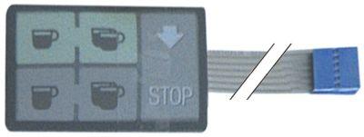 μεμβράνη πληκτρολογίου μηχανή καφέ για συσκευή DUE  κατάλληλο για FAEMA