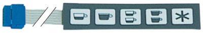 μεμβράνη πληκτρολογίου μηχανή καφέ