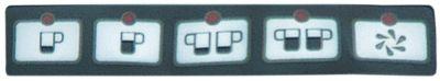 μεμβράνη πληκτρολογίου μηχανή εσπρέσο για συσκευή σειρά 85