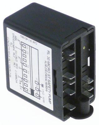 ρελέ στάθμης 230V τάση AC  σύνδεσμος F6,3  τύπος RL30 MICRO ST SAFETY PUMP