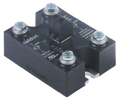 ρελέ CELDUC  φάσεις 2 50A 400V 10-30VDC  Μ 58mm W 45mm βίδα τύπος SCB965600  10-30VDC