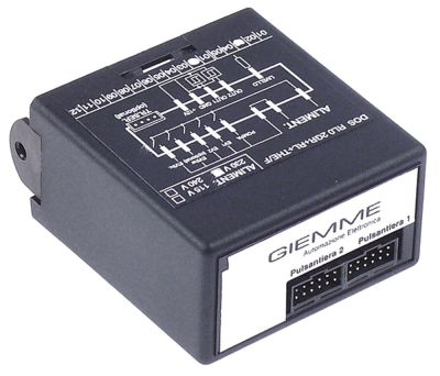 κεντρική μονάδα 230V τύπος DOS RL0 2GR+RL+THE/F