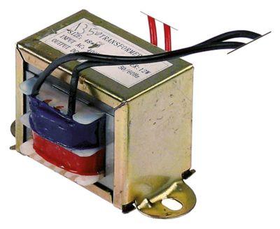 μετασχηματιστής κύρια τάση 230VAC  δευτερεύον 24VDC  12VA δευτερεύον 0.5A