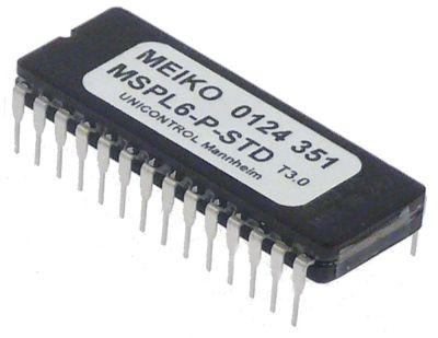 EPROM τύπος MSPL6-P-STD  ΚΩΔΙΚΟΣ 124351