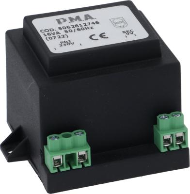 μετασχηματιστής κύρια τάση 230V δευτερεύον 9V 16VA δευτερεύον 1.7A σύνδεσμος βίδα 50Hz