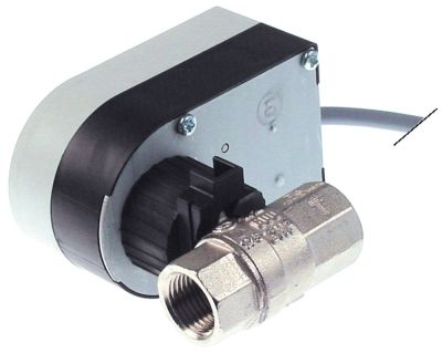 βάνα  είσοδος 1/2″ εσωτερικό σπείρωμα έξοδος 1/2″ εσωτερικό σπείρωμα 230V 50/60 Hz
