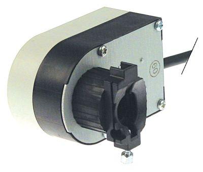 μειωτήρας για βαλβίδα 230V Μ 75mm 50/60 Hz W 60mm H 72mm TCR  ø άξονα 31mm