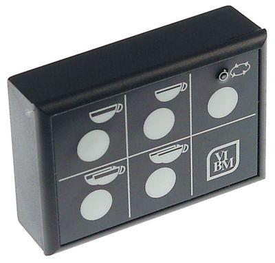 πληκτρολόγιο κουμπιά 5 Μ 87mm W 59mm