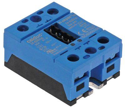 ρελέ CELDUC  φάσεις 2 50A 24-600 V 6-16VDC  Μ 59mm W 46mm βίδα τύπος SOB965160