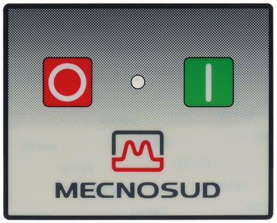 μεμβράνη πληκτρολογίου μηχανή ανοίγματος ζύμης για συσκευή DL 30-40  Μ 100mm W 80mm