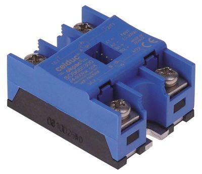 ρελέ CELDUC  φάσεις 2 50A 24-600 V 7,5-25VDC  Μ 58mm W 45mm βίδα τύπος SOB665300