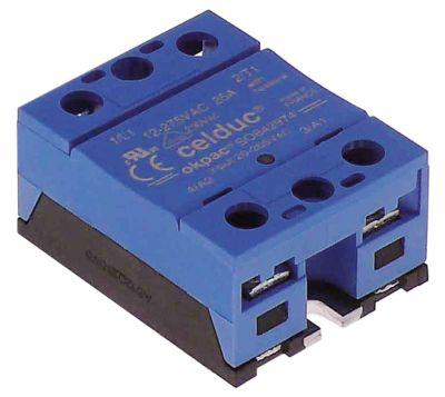 ρελέ CELDUC  φάσεις 1 φάση 25A 12-275 V 20-265VAC  Μ 57mm W 45mm βίδα τύπος SOBA2974