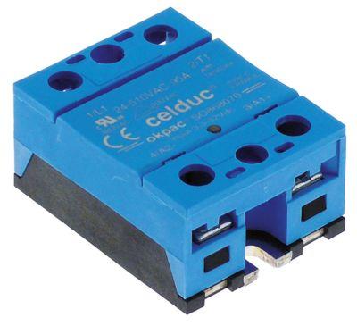 ρελέ CELDUC  φάσεις 1 φάση 95A 24-510 V 3-32VDC  Μ 58mm W 45mm  - βίδα τύπος SOB68070