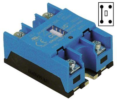 ρελέ CELDUC  φάσεις 2 φάση 50A 24-600 V 7,5-25VDC  Μ 58mm W 46mm βραχυκυκλωτήρας σε L1 και L2 βίδα