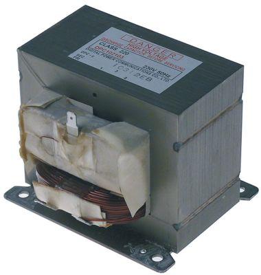 μετασχηματιστής HV κύρια τάση 230V δευτερεύον 2000kV σύνδεσμος αρσενικό εξάρτημα 50Hz
