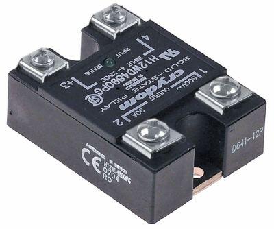 ρελέ CRYDOM  φάσεις 1 90A 600V 4-32VDC  Μ 58,6mm W 45mm βίδα τύπος H12WD4890PG