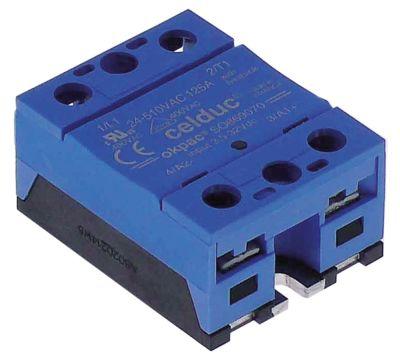 ρελέ CELDUC  φάσεις 1 125A 24-510 V 3,5-32VDC  Μ 57mm W 45mm βίδα τύπος SO869070