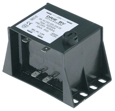 μετασχηματιστής κύρια τάση 230VAC  δευτερεύον 24VAC  30VA δευτερεύον 1.3A