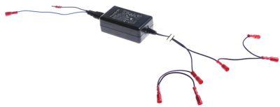 τροφοδοτικό κύρια τάση 100-240VAC  δευτερεύον 12VDC  24VA δευτερεύον 2A H 35mm Μ 88mm