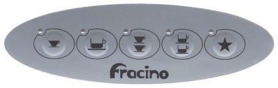 μεμβράνη πληκτρολογίου FRACINO  Μ 133mm W 40,5mm