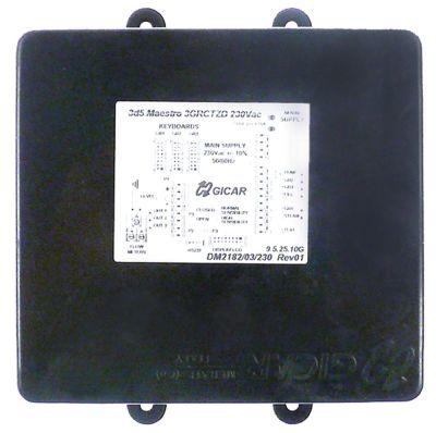 κεντρική μονάδα 3 ομάδα 230V παροχή δόσης + έλεγχος στάθμης τάση AC
