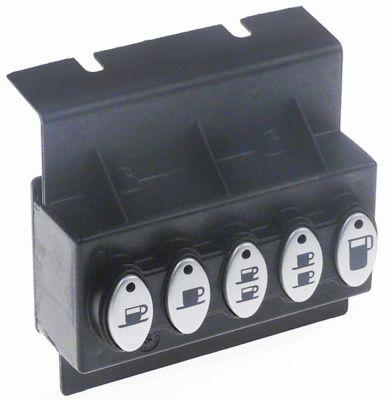 πληκτρολόγιο κουμπιά 5 Μ 106mm W 50mm