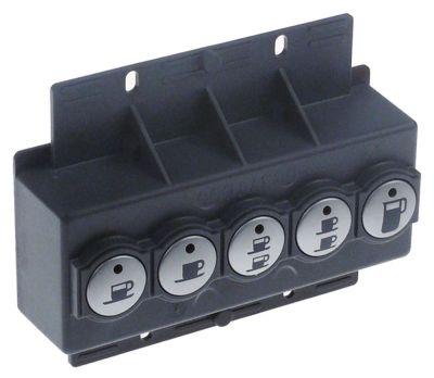 πληκτρολόγιο κουμπιά 5 Μ 125mm W 50mm