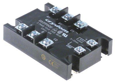 ρελέ CRYDOM  φάσεις 3 50A 530V 4-32VDC  Μ 105mm W 74mm βίδα τύπος D53TP50D
